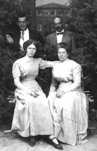 William Mitton and Theodora Hagen