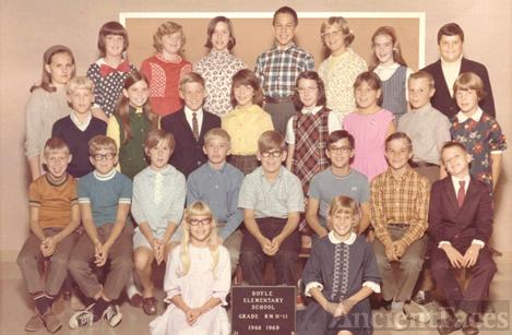 1968-69: Doyle Elem. School, Grade 6