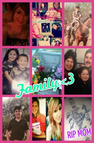 Cynthia Garza & family