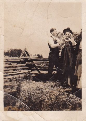 Amanda Karnes and Floyd Watson