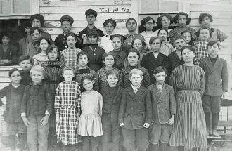 Choctaw School, Illinois 1913-1914