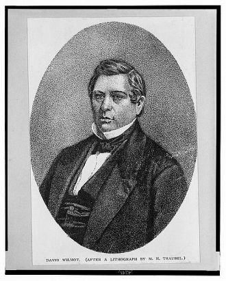 David Wilmot (after a lithograph by M.H. Traubel)