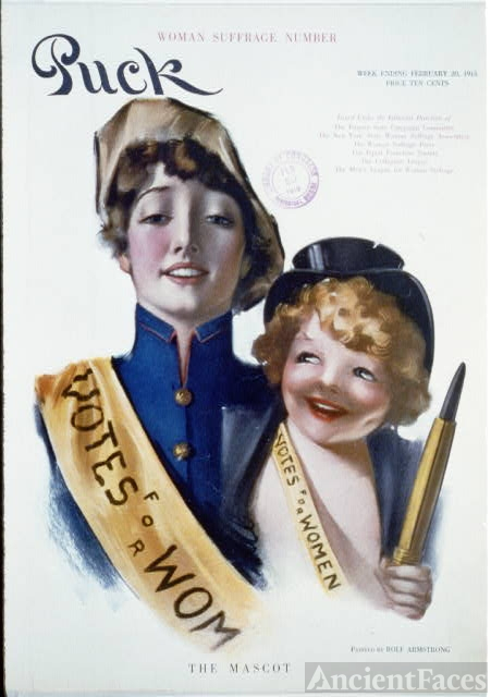 The mascot / painted by Rolf Armstrong.