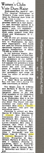 Anne Louise Connell-Coughlan--Portland Press Herald (Portland, Maine)(28 apr 1949)