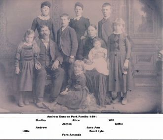 Andrew Duncan Park Family