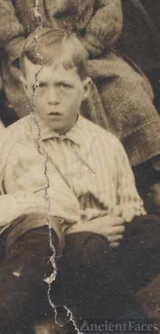 Sidney Braden, school boy
