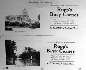 A. G. Rupp Store - Wyoming