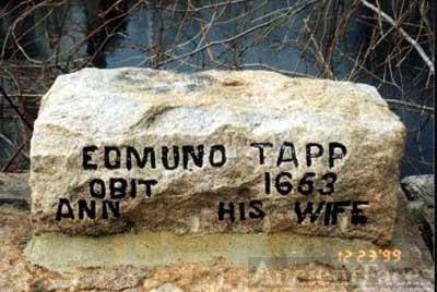 Edmund Tapp, Jr. Tombstone