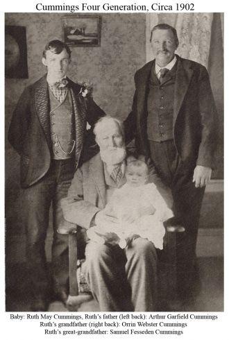 Ruth, Samuel, Orrin, & Arthur Cummings, MA