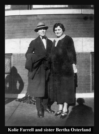 Kolie Farrell & Bertha Osterland