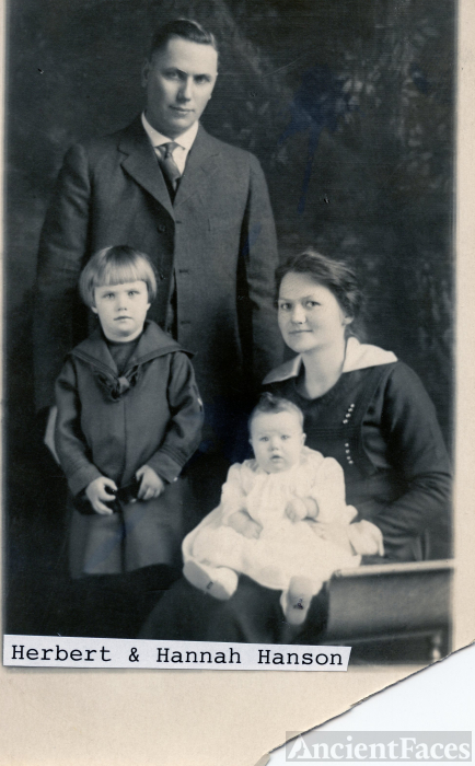 Herbert & Hannah Hanson Family