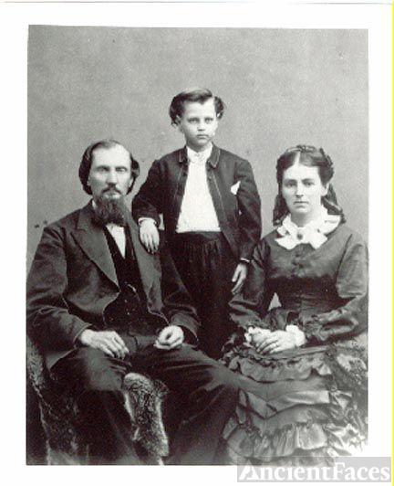 Oliver family, 1875