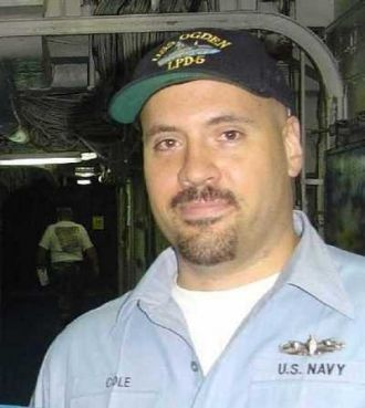 Robert Norman Cole Jr, Navy