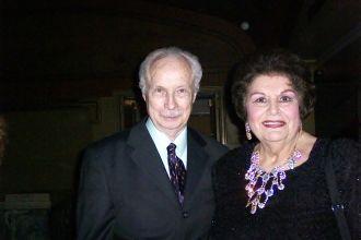 James Blanchard and Lucine Amara