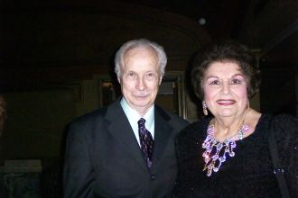 James Blanchard and Lucine Amara