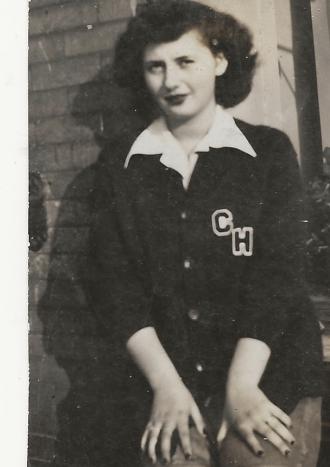 Charlene Handlovsky in High School