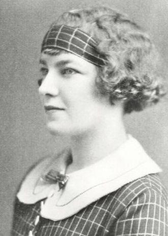 Astrid Sandstrom, Illinois, 1924