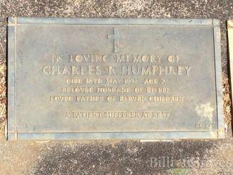 Charles Rodwell Humphrey gravesite