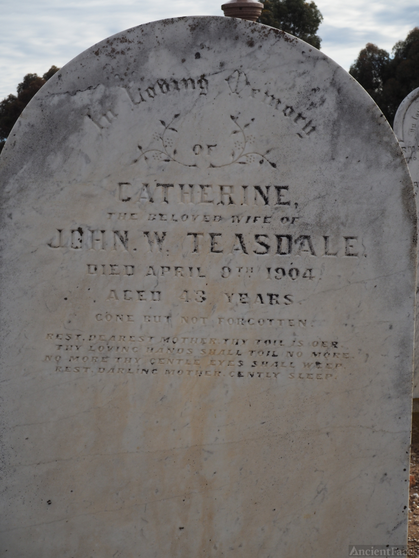 Catherine Mcdonald Teasdale