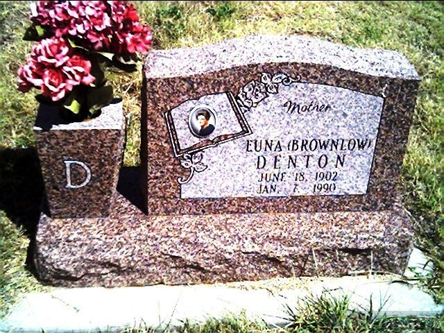 Euna Brownlow Denton Gravesite
