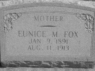 Eunice Piper gravestone