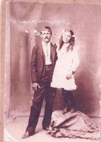 Lige Arnold and Virginia Mae Condley