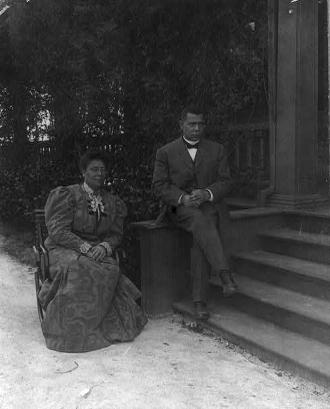 Margaret and Booker Taliaferro Washington
