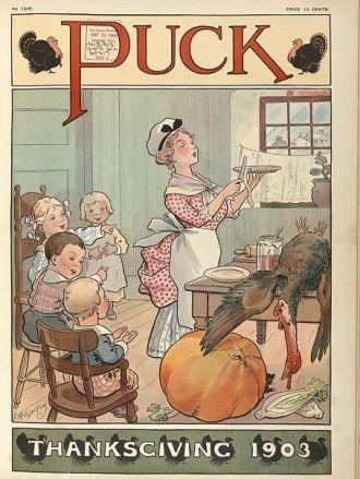 Puck Thanksgiving, 1903