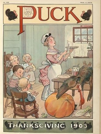 Puck Thanksgiving, 1903
