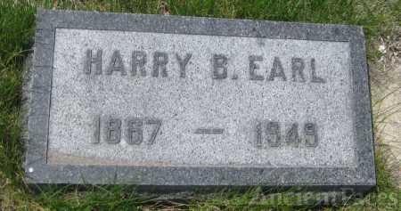 Harry Burnette Earl gravesite