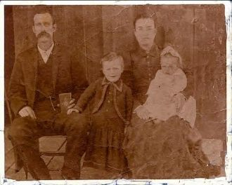 Asa Asbury Weems Family Photo