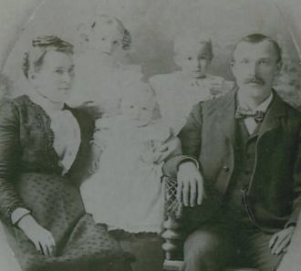 Nicholas and Josephine Reuter Family