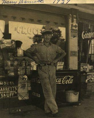 A photo of Harry Barnett