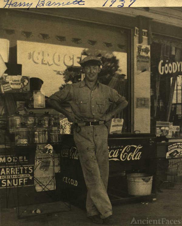 Harry Barnett, Arkansas
