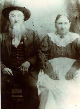 Jesse & Elizabeth (Justice) Taylor, Missouri