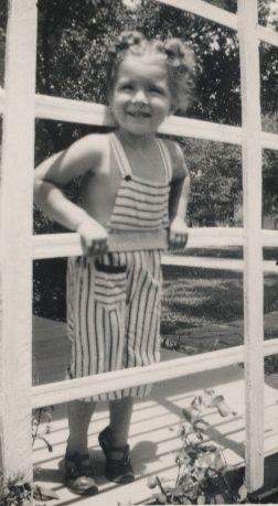 little Vicki Lynn Revert, July 4, 1948