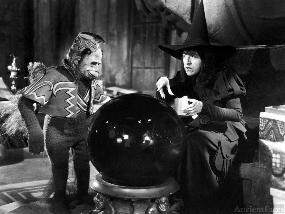 Flying Monkey with Wicked Witch - Wizard of Oz