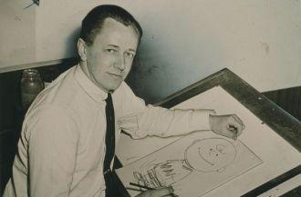 Charles Schultz & Charlie Brown - 1956