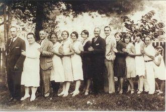 Charles & Mary Boone Family, 1929 VA