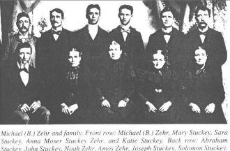 Michael Zehr Family