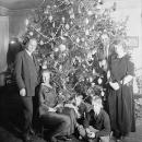 Dickey Christmas tree, 1923