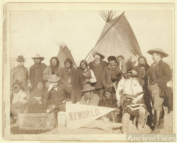 Indian chiefs and U.S. officials