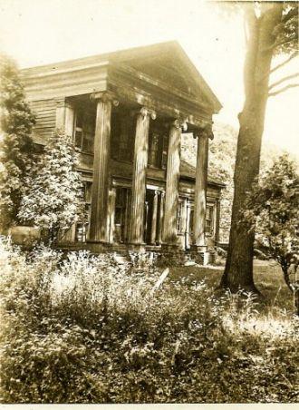 Myron & Harriet Emma (Hattie) Gibbons - Johnson home