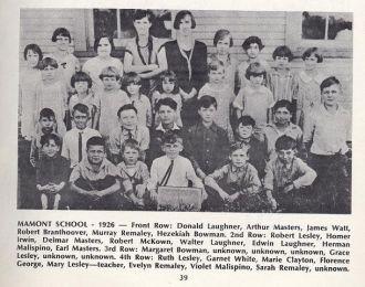 Mamont School 1926
