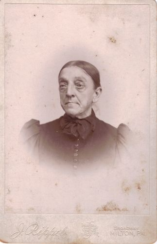 Waltman, Hester, or Layne Unknown Female Cabinet Card