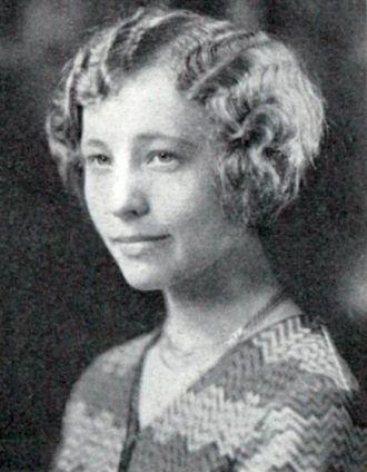 Doris Lucy Copeland, Vermont, 1930