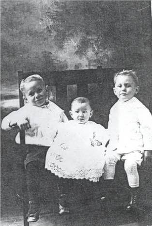 Children of Lizzie & George Philip Huck