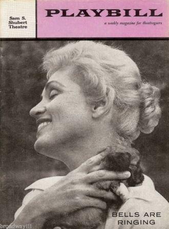 Judy Holliday , Playbill