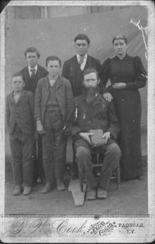The Green Martin Family / My Great Grandparents