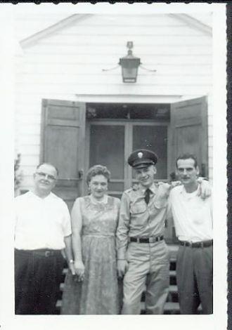 Schreiners At Fort Dix